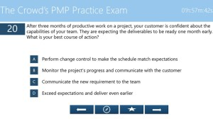 The Crowd's PMP Exam prep app